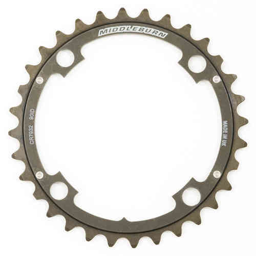 Middleburn Middle 104pcd Chainring 4arm 90id Slickshift