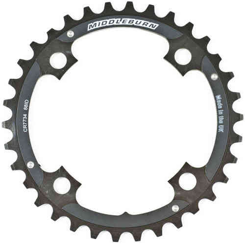 Middleburn Middle 104pcd Chainring 4arm 88id Slickshift