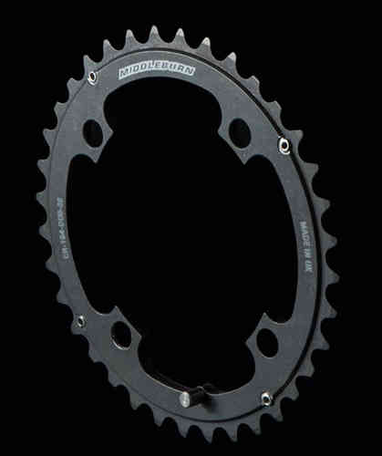 Middleburn Outer Duo 120pcd Chainring 4arm Double 39t SlickShift Sram