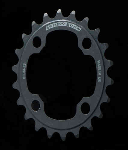 Middleburn Inner Duo 80pcd Chainring 4arm 26t Double Sram