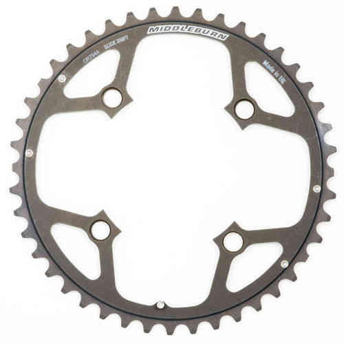 Middleburn Outer 104pcd 4mm Chainring 4arm Slickshift