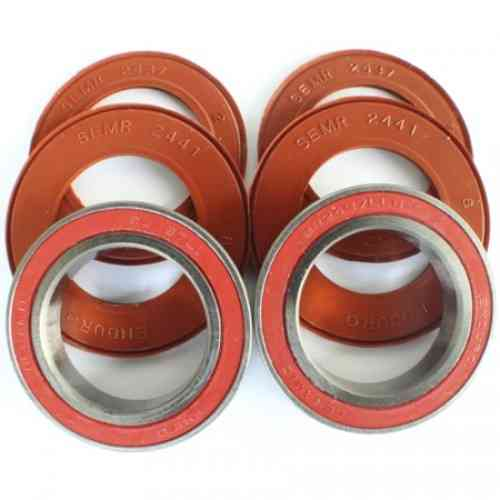 Enduro Bottom Bracket OUTBOARD KIT - SHIM - CERAMIC HYBRID