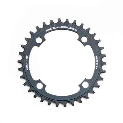 Middleburn Mono Thick Thin 104pcd Chainring 4arm 90id Single Ring