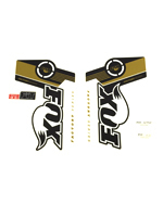 Fox Fork Decal 32 & 34 B/W Evolution Series Stickers