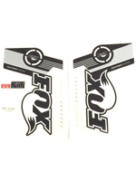 Fox Fork Decal 36 B/W Factory Series Stickers
