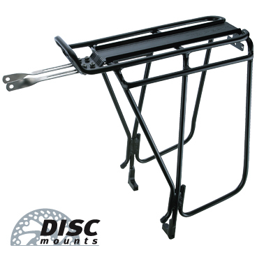 Topeak Super Tourist DX Tubular Rack with disc Mounts