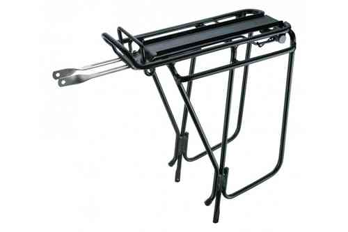 Topeak Super Tourist DX Tubular Rack With Spring Black