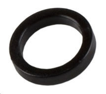 Fox 8mm Black Plastic Crush Washer