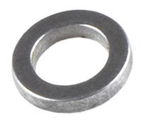 Fox 6mm Silver Alloy Crush Washer Talas