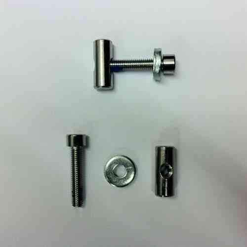 Weehoo Hex bolt washer & threaded barrel for Seat base 2014