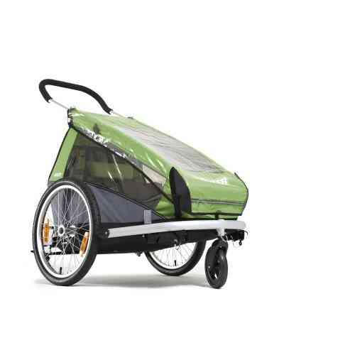 Croozer Trailers Sun Cover For 2010 Onwards Kid 1 Standard Green