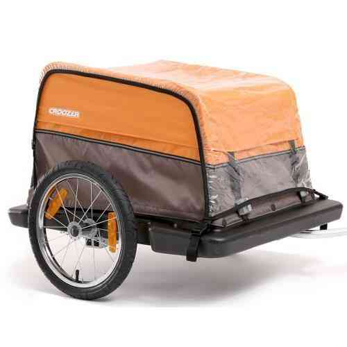 Croozer Trailers Rain Cover For Cargo & Dog