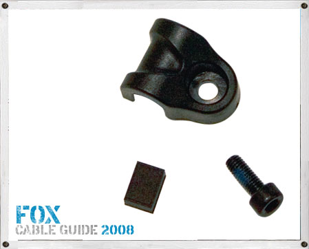 Fox Fork Hose Guide - 2008 Onwards ( Replace with 820-07-152-KIT  )