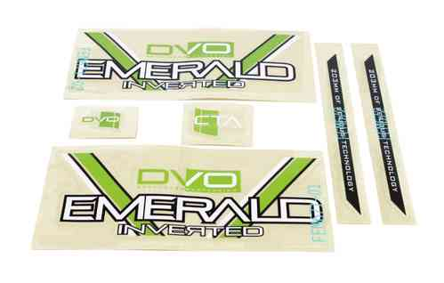 DVO Suspension - Emerald Fork Decal Set