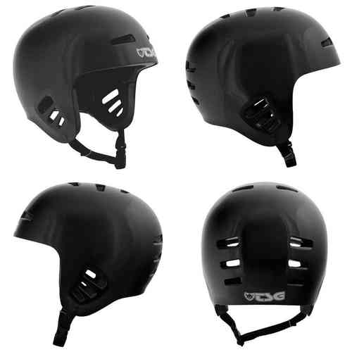 TSG Dawn Full Ear Protection Open Face Helmet