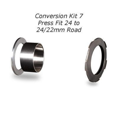 Chris King Press Fit BB Conversion Kits 7-24-24/22 Road