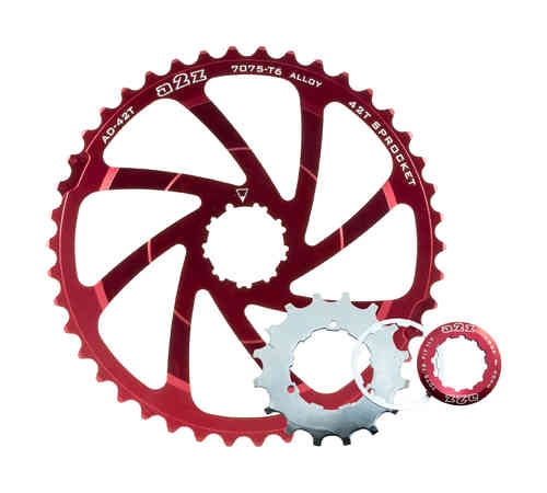 A2Z Wide Range Cassette Expander Adapter Sprocket