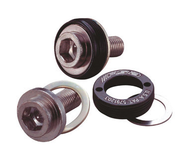 FSA Self Extracting Crank Bolts JIS M8 Steel