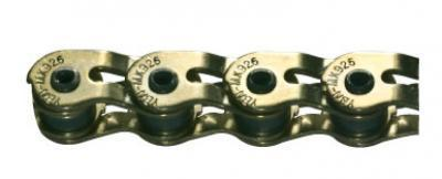 YBN MK926G2 Slotted 1/2 Link 1/8 Chain Gold