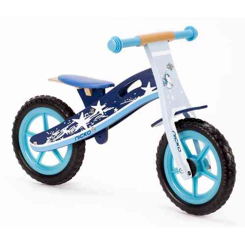 Nicko Star Wooden Balance Bike - Running Bike