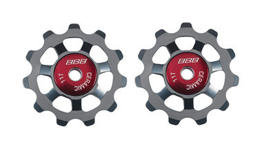 BBB BDP-22 - AluBoys Ceramic Jockey Wheels 11T Grey