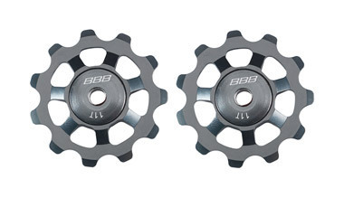 BBB BDP-21 - AluBoys Jockey Wheels 11T Grey