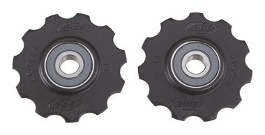 BBB BDP-12 - RollerBoys Ceramic Jockey Wheels 11T Black