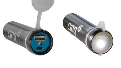 Cinq-5 Smart Power Pack II Portable Power pack for charging GPS/Phones