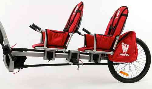 Weehoo iGo Pro Double Two Seat Trailer