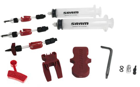 SRAM Avid - Standard Brake Bleed Kit includes 2 syringes fittings