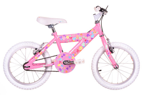 Sunbeam Heartz 16 Inch Girls Bike