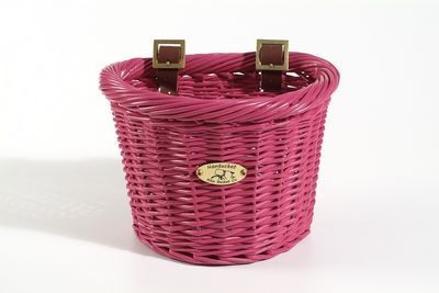 Nantucket Bike Baskets Child Rattan Basket D Shape