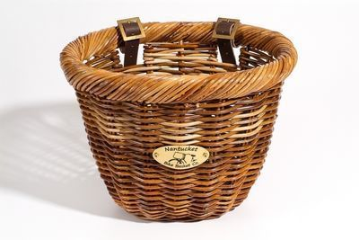 Nantucket Bike Baskets Cisco Rattan Basket Oval