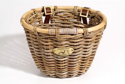 Nantucket Bike Baskets Tuckernuck Rattan Basket Oval