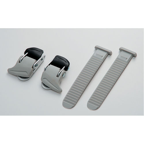 Shimano Shoe Universal small buckle and strap set, grey