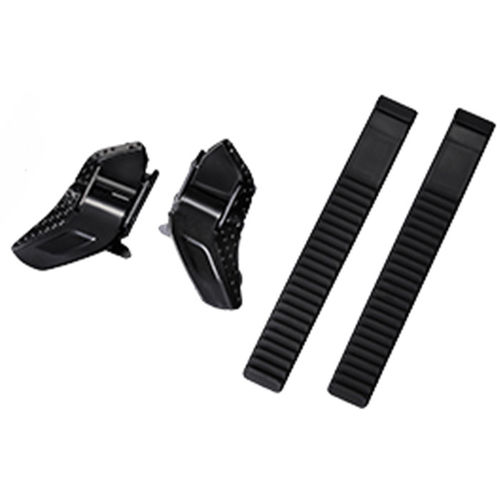 Shimano Low profile buckle and strap set black
