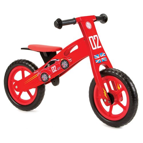 Nicko NIC852 Cars Wooden Balance Bike