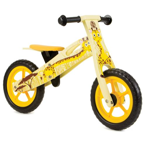 Nicko NIC853 Giraffe Wooden Balance Bike
