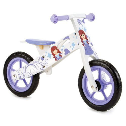Nicko NIC857 Princess Wooden Balance Bike