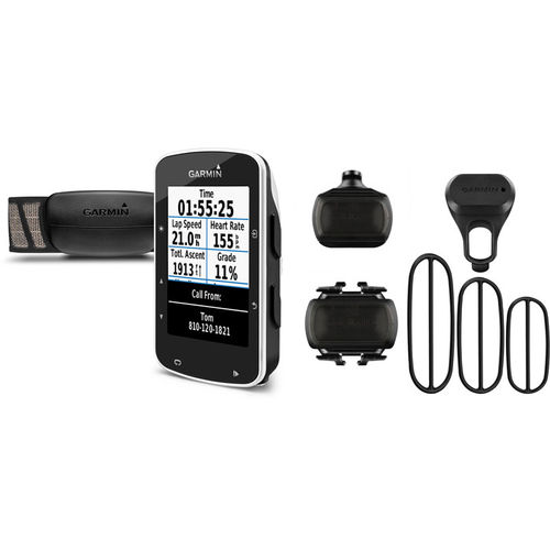 Garmin Edge 520 GPS- enabled cycle computer with speed / cadence sensors & HRM - black