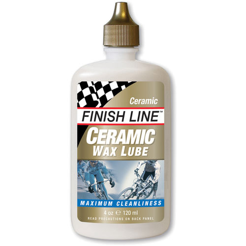 Finish Line Ceramic Wax lube 4 oz / 120 ml bottle