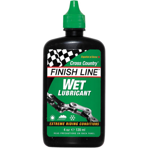 Finish Line Cross Country Wet chain lube 4 oz / 120 ml