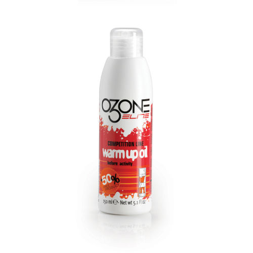 Elite O3one Pre Competition Warm Up Oil Spray 150ml Bottle