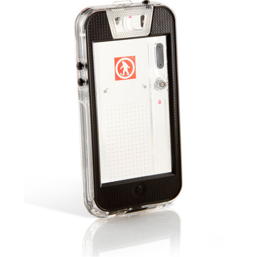 Outdoor Tech Safe 5 - iPhone 5 IPX-7 Waterproof Case - Clear