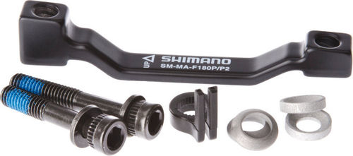 Shimano Adapter for post type calliper for 180mm Post fork mount to 203 mm rotor