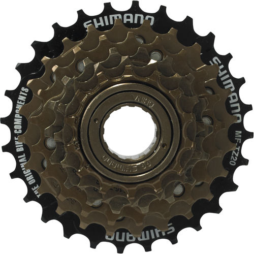 Shimano 6-speed multiple freewheel 14-28 T MF-TZ20
