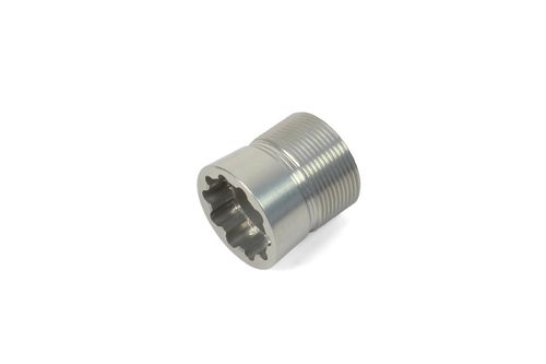 Hope Crankset Tapered Shaft Plug - Silver