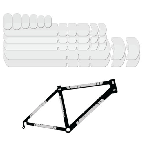Lizard Skins Frame Kit - Clear