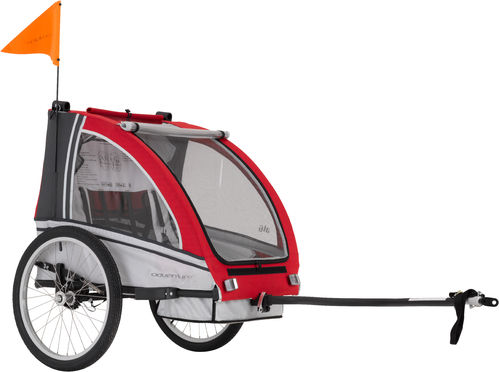 Adventure AT6 - alloy 2 seater bicycle trailer