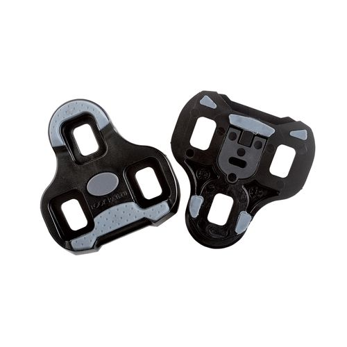 Look Keo Cleat With Gripper 0 Degree Fixed Black Grey